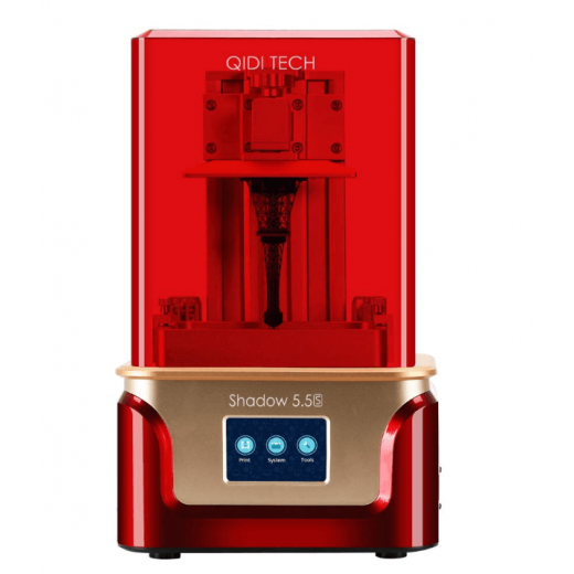 QIDI TECH SLA /LCD Shadow 6,0 PRO,  с двумя направляющими по оси z, 115*65*150 мм,New 2021