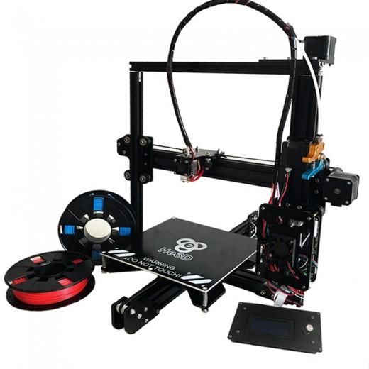 Принтер 3D TEVO Tarantula + 200x280x200 мм + автоматический уровень + 8Gb sd card + гибкий ментальный экструдер