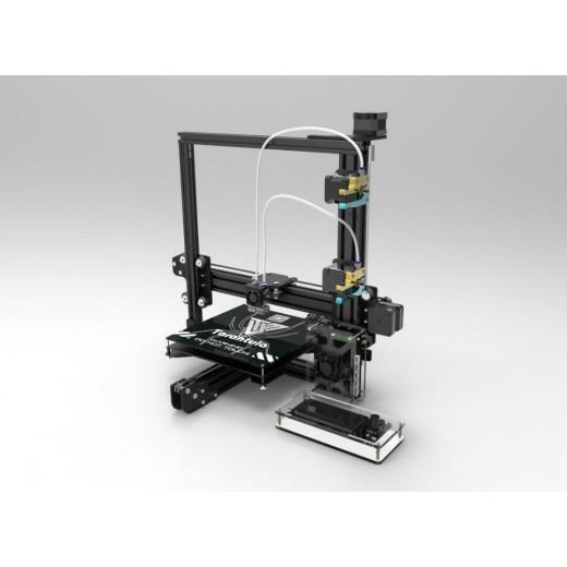 Принтер 3D TEVO Tarantula + 200x280x200 мм +  двойной экструдер + гибкий ментальный экструдер