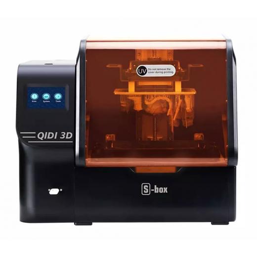 QIDI Tech S-Box полимерный 3D принтер UV LCD принтер, 10,1 дюймов 2K LCD, 4,3 дюймов сенсорный экран, 215x130x20 0 мм, New 2021