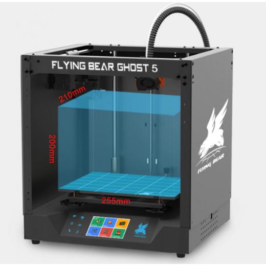 3D Принтеp Flyingbеаr-Ghоst 5,tmc 2208, bmg extruder,3.5 сенсорный дисплей,Wifi