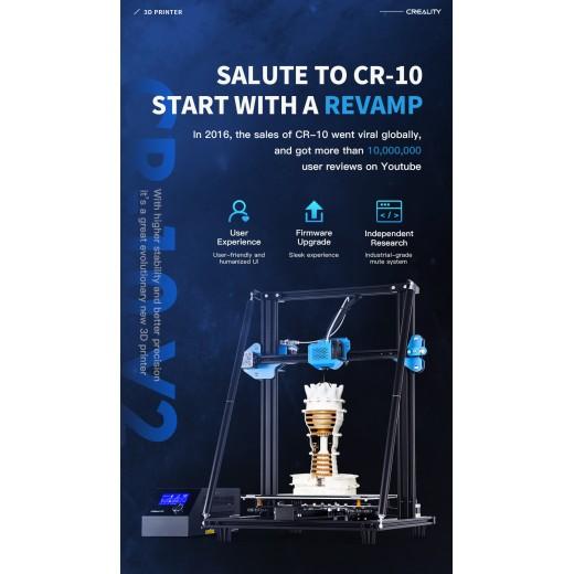 3D принтер TEVO- CREALITY CR-10 V2 3d  Meanwell источник питания