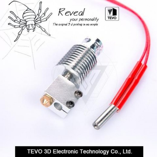 TEVO 3D Printer parts Volcano hotend for 1.75mm Direct Filament 0.4mm Nozzle