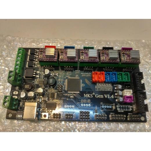 Плата управления 3D-принтером BW  MKS Gen v1.4