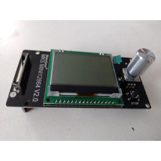Makerbase MKS MINI12864 lcd v2.0 RepRap Жидкокристаллический ЖК-экран  для Tevo Tarantula Pro