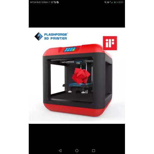 3D-принтер Tevo-Flashforge Finder 2,0, автоматическое выравнивание, съемная платформа, один экструдер, модель 2020